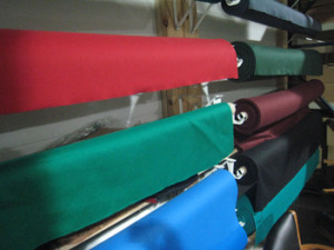 El Paso pool table recovering table cloth colors