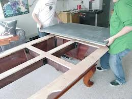 Pool table moves in El Paso Texas