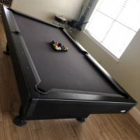 Brunswick Pool Table & Light