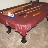 DLT Slate Pool Table