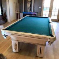 Pool Table and Full Bar Set