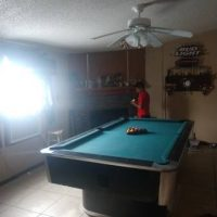 Bar Pool Table Has For Coins