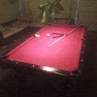 Lion Feet Pool Table